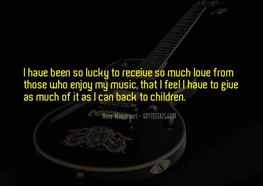 Feel So Lucky Quotes #272723