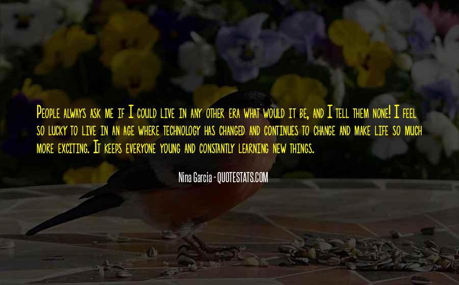 Feel So Lucky Quotes #361271