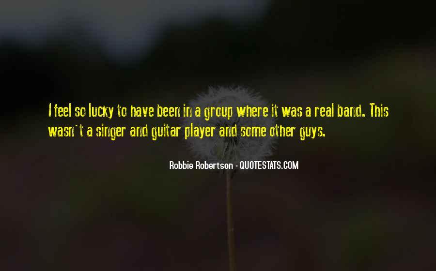 Feel So Lucky Quotes #379785