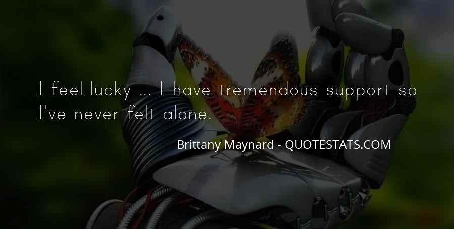 Feel So Lucky Quotes #471658