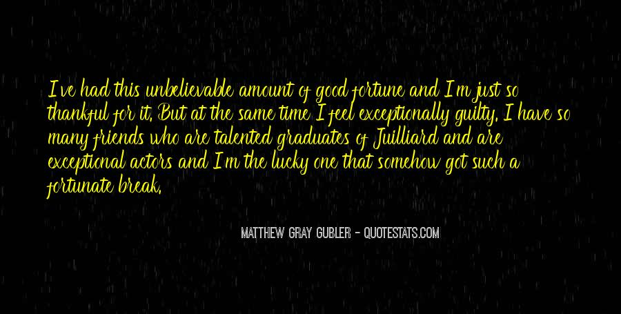Feel So Lucky Quotes #598421