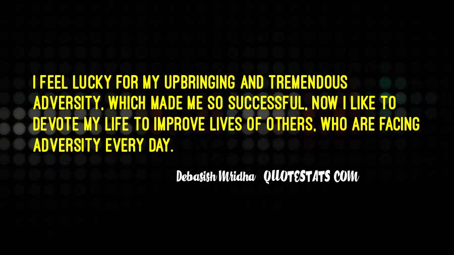 Feel So Lucky Quotes #748229