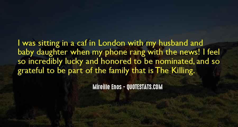 Feel So Lucky Quotes #87983