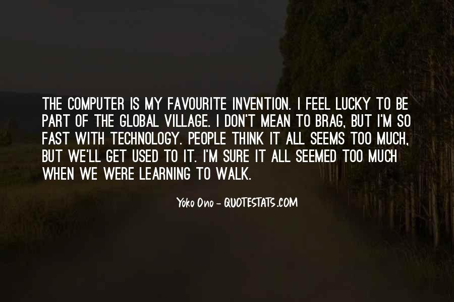 Feel So Lucky Quotes #947538