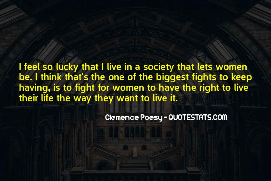 Feel So Lucky Quotes #973029