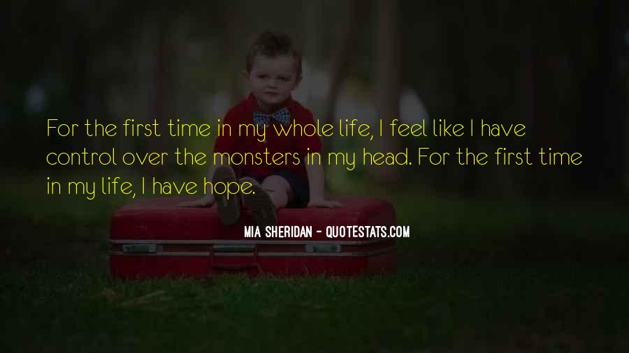 Feel The Life Quotes #39688