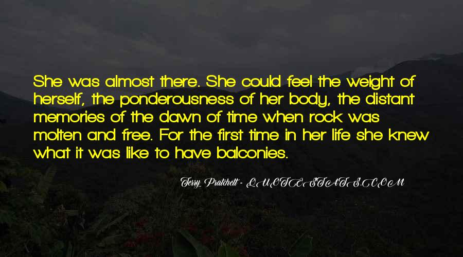 Feel The Life Quotes #44948