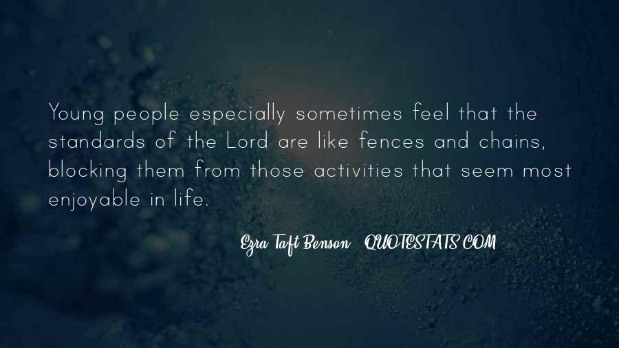Feel The Life Quotes #57667