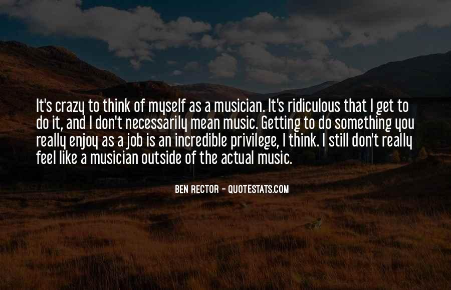 Feel The Music Quotes #133552