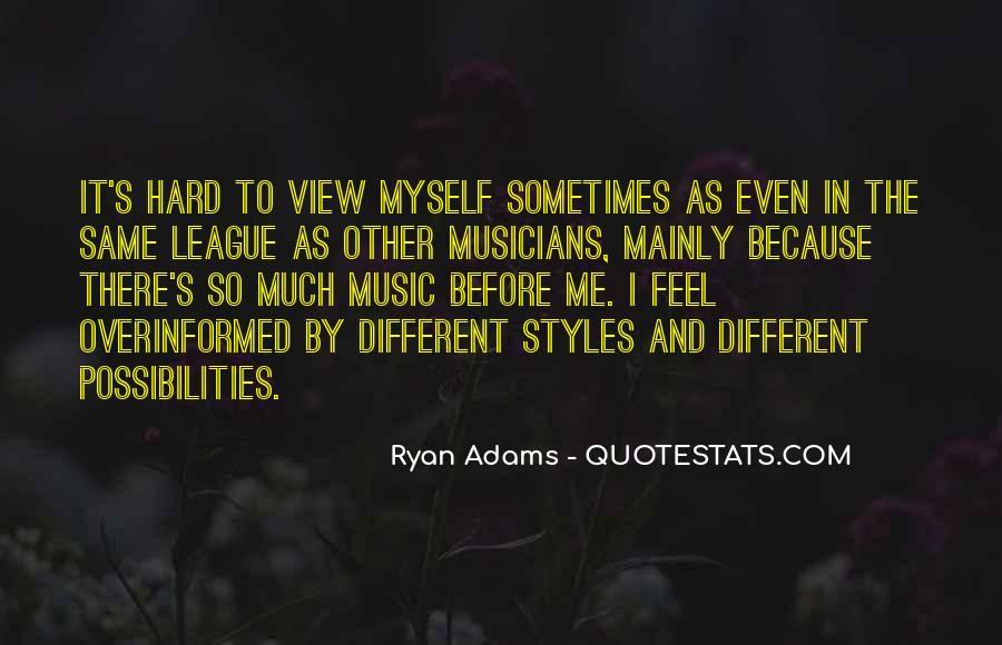 Feel The Music Quotes #145339