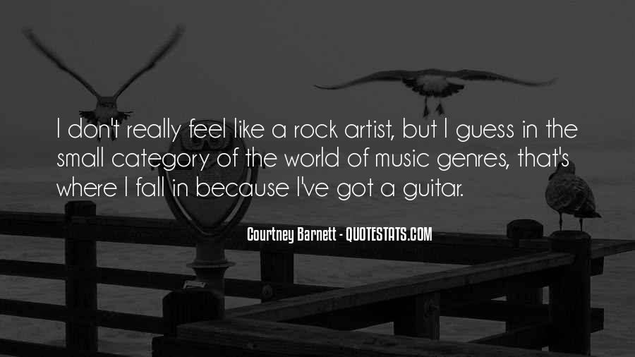 Feel The Music Quotes #158600