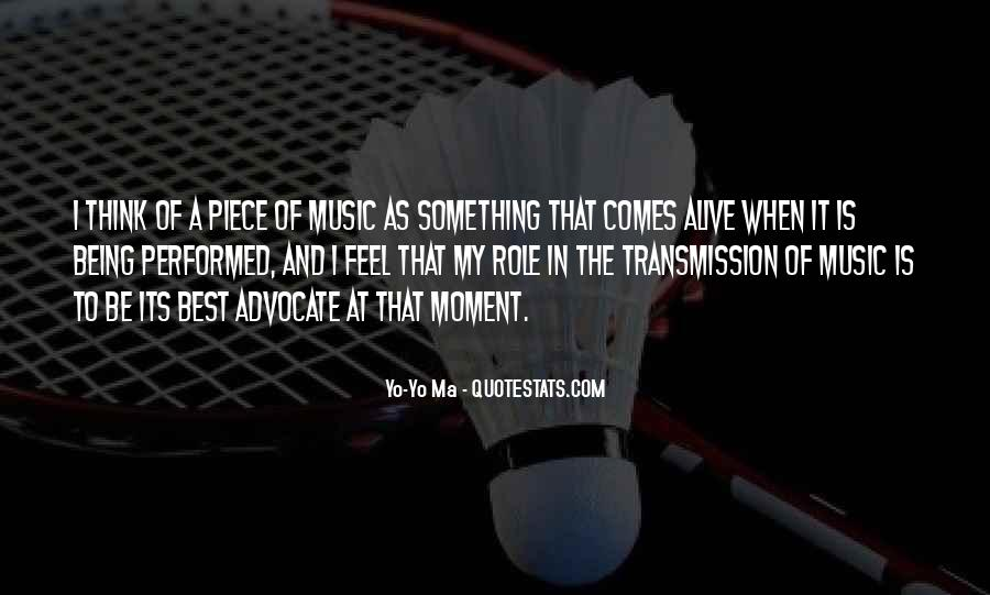 Feel The Music Quotes #17200