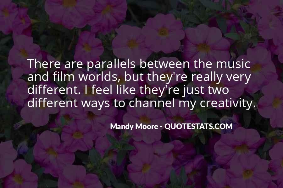 Feel The Music Quotes #194282