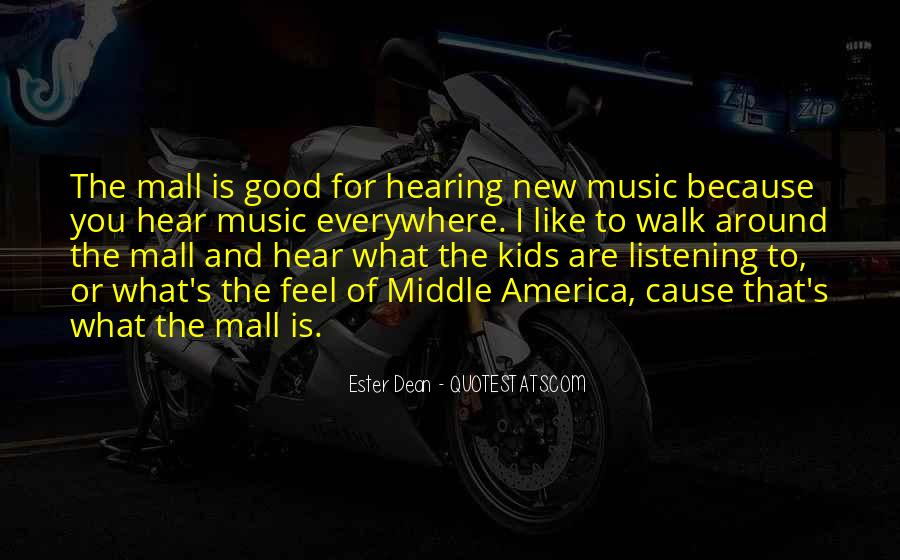 Feel The Music Quotes #221919