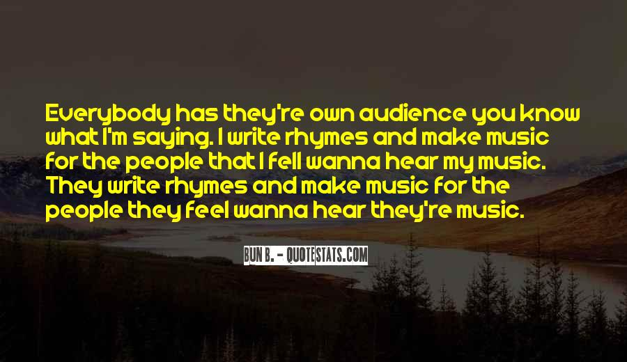 Feel The Music Quotes #225033