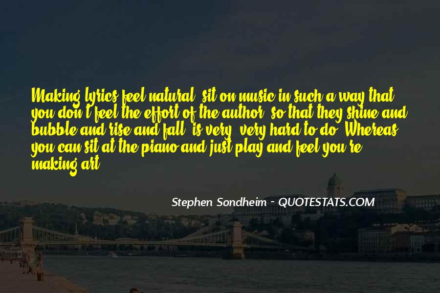 Feel The Music Quotes #27323