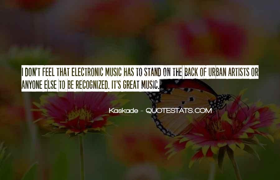 Feel The Music Quotes #30234