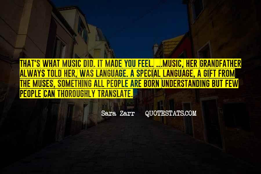 Feel The Music Quotes #30303