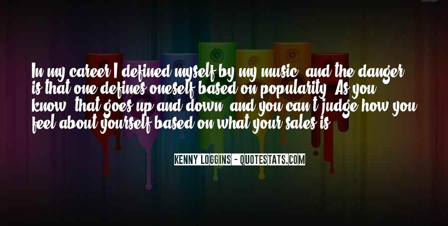 Feel The Music Quotes #42684