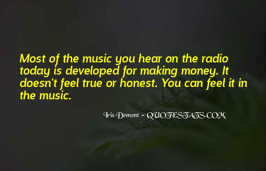 Feel The Music Quotes #47129
