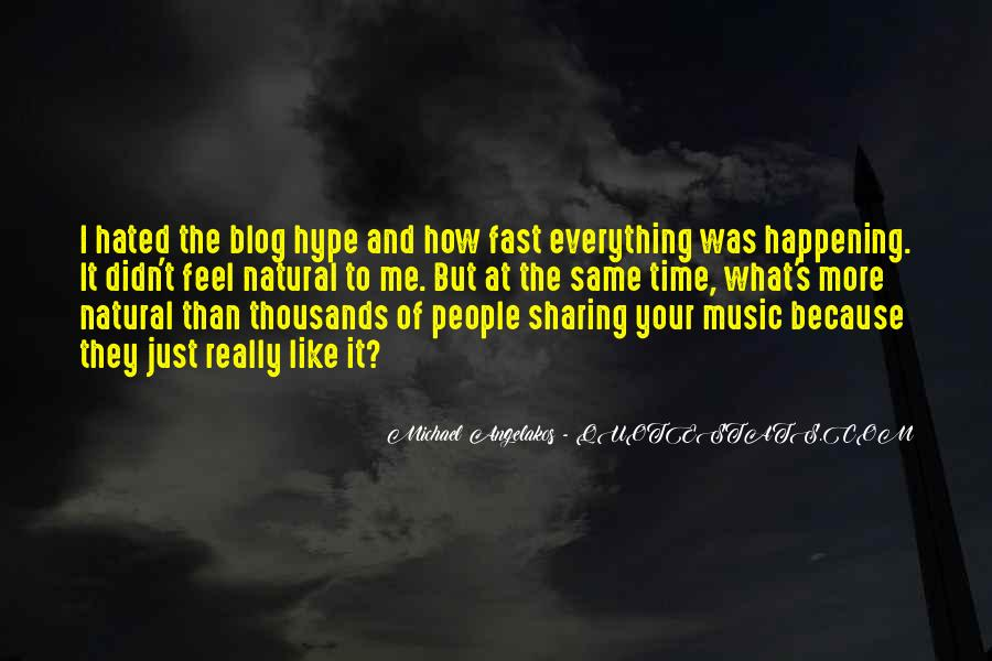 Feel The Music Quotes #52193