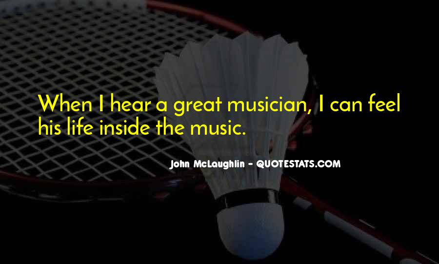 Feel The Music Quotes #78287