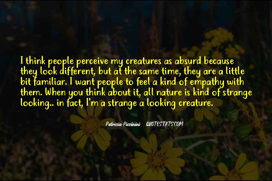 Feel The Nature Quotes #110488