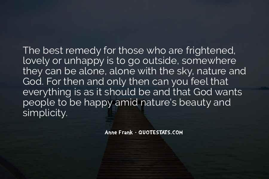 Feel The Nature Quotes #160475