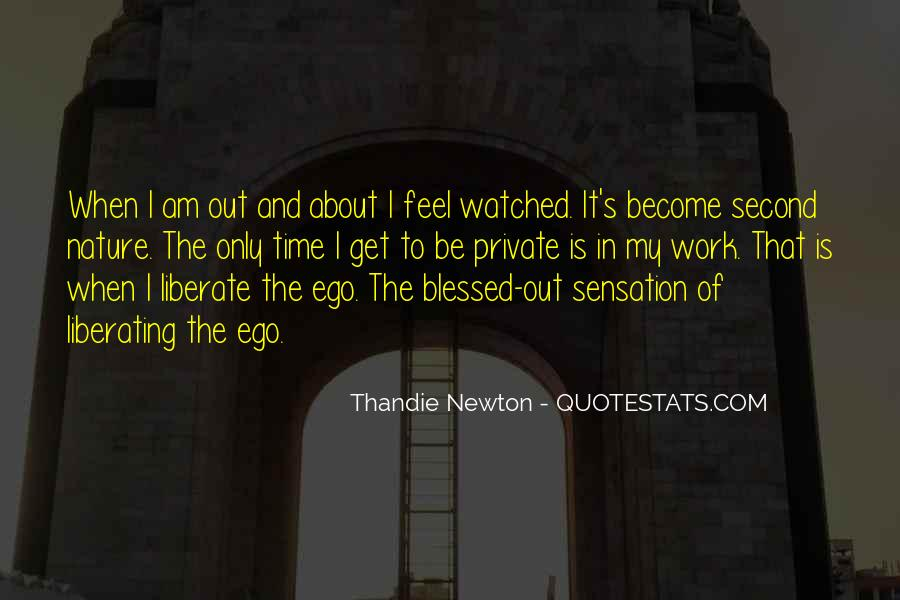 Feel The Nature Quotes #178894