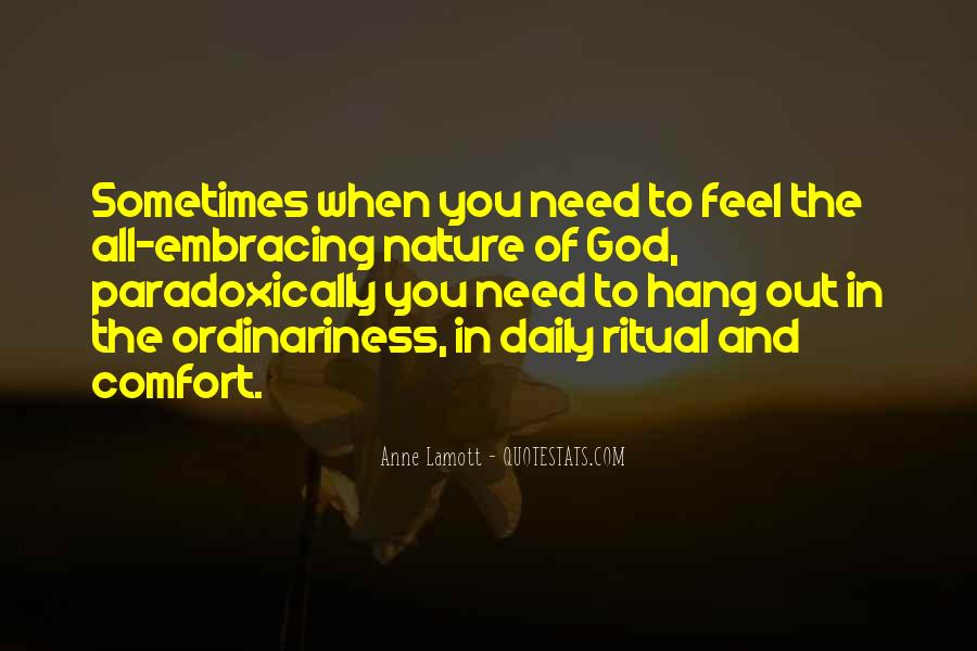Feel The Nature Quotes #220592
