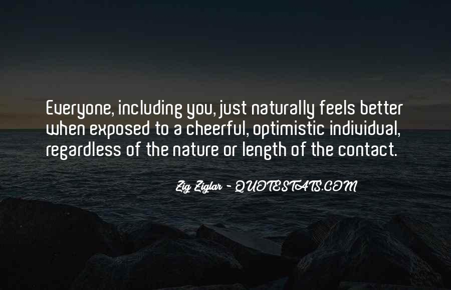 Feel The Nature Quotes #325849