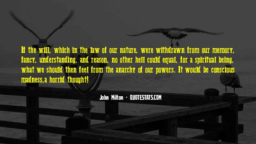 Feel The Nature Quotes #400594