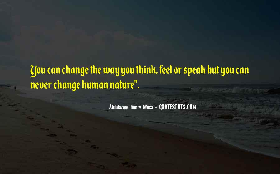 Feel The Nature Quotes #424440