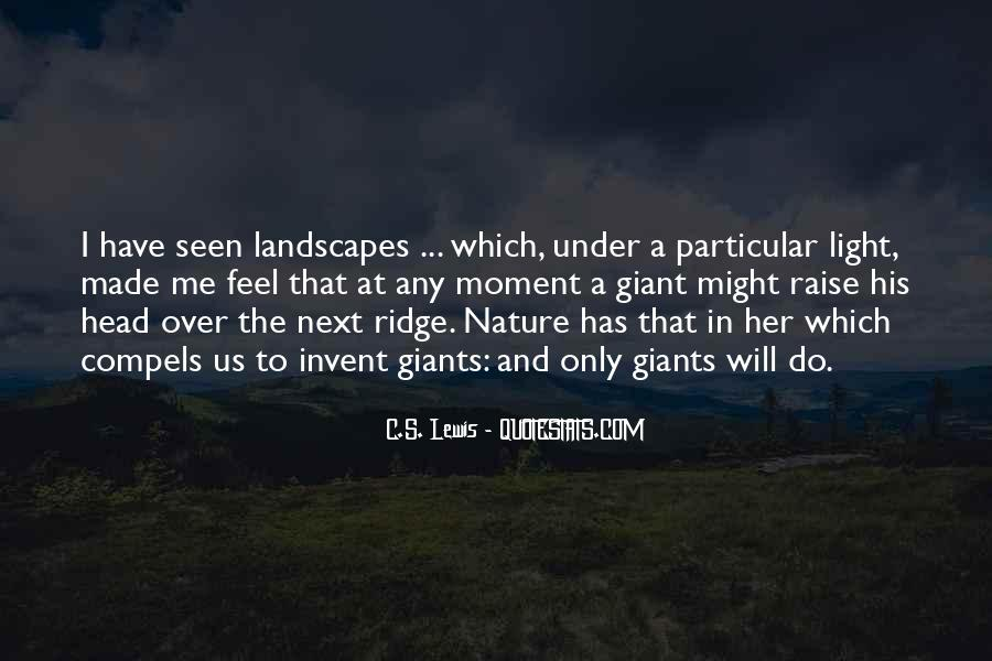 Feel The Nature Quotes #508173