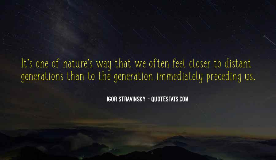 Feel The Nature Quotes #575978