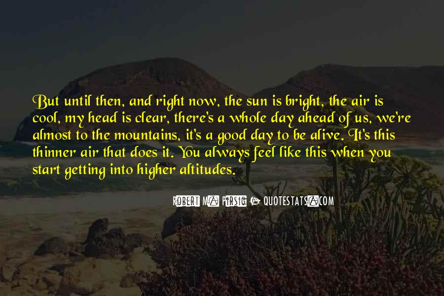 Feel The Sun Quotes #135583