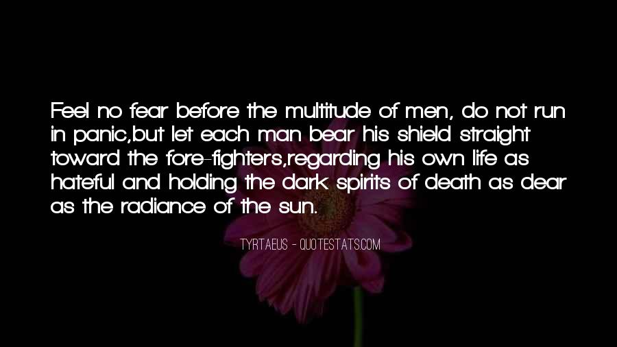 Feel The Sun Quotes #147042