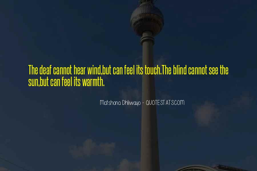Feel The Sun Quotes #163017