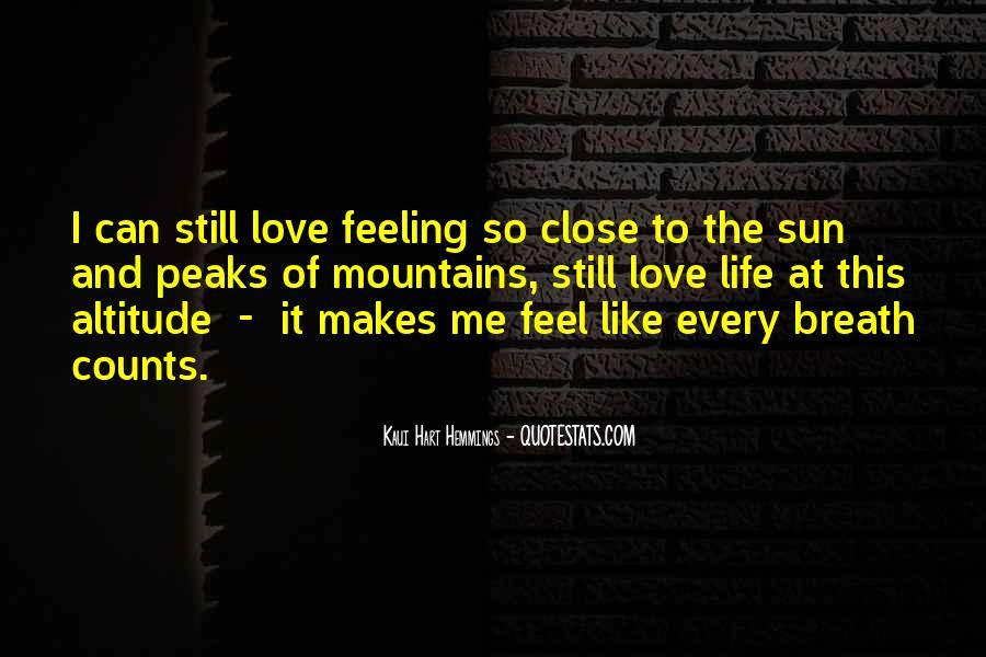 Feel The Sun Quotes #55695