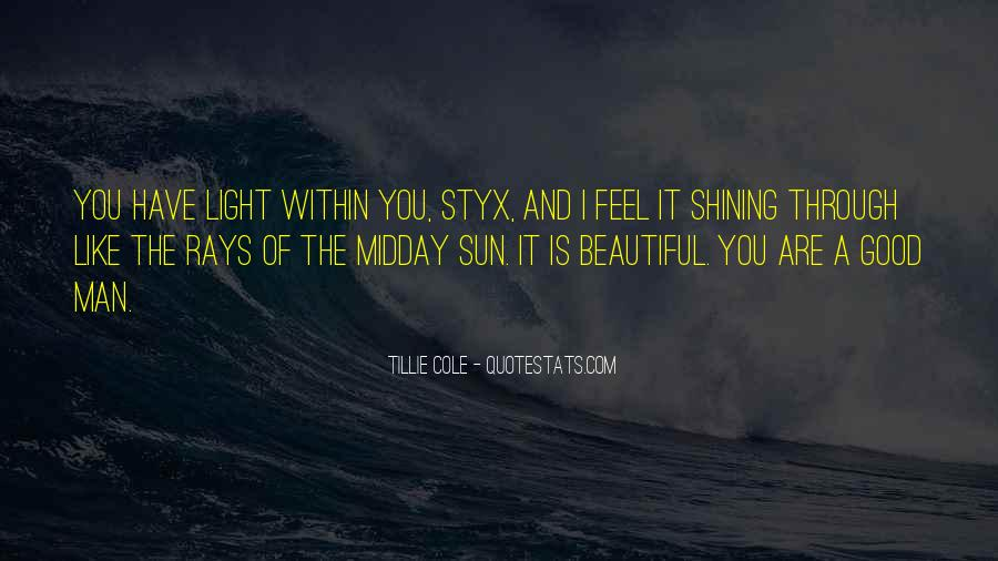Feel The Sun Quotes #839981