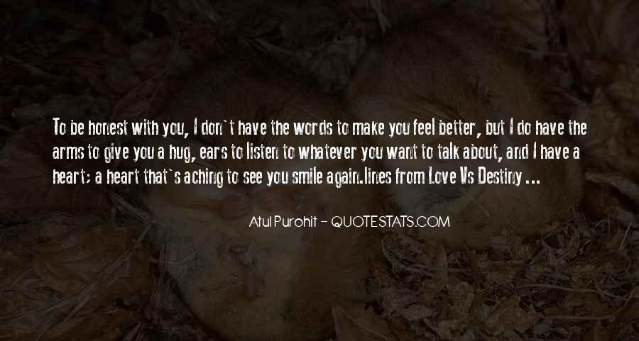 Feel With Love Quotes #112509