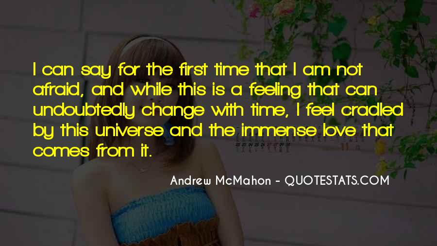 Feel With Love Quotes #12148