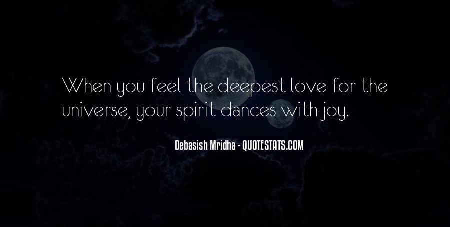 Feel With Love Quotes #136449