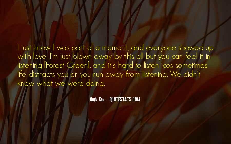 Feel With Love Quotes #169958