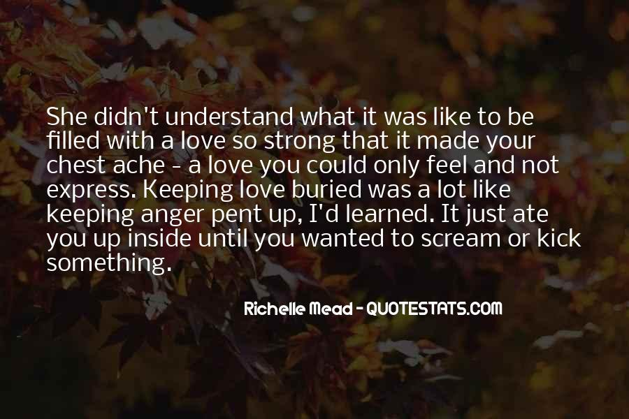 Feel With Love Quotes #189011