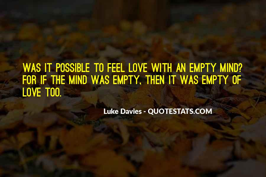 Feel With Love Quotes #192094