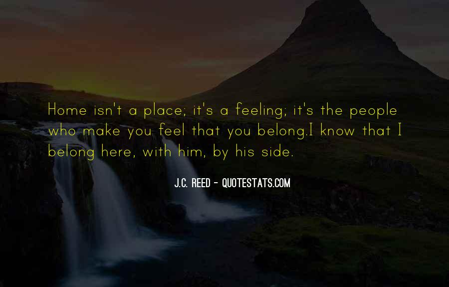 Feel With Love Quotes #20454