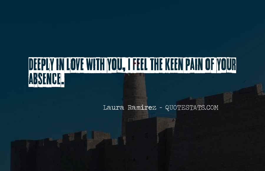 Feel With Love Quotes #22981