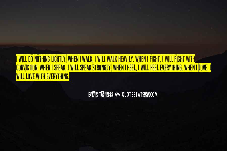 Feel With Love Quotes #31114