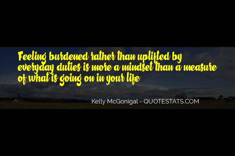 Feeling Burdened Quotes #69422